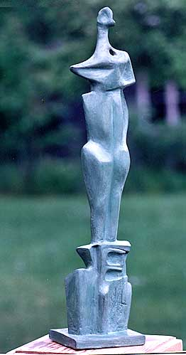 Upright Figure No 2a - Artificial  Stone-